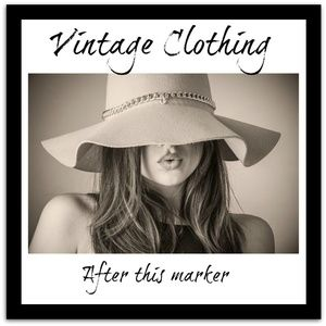 Other - Vintage Clothing & Accessories